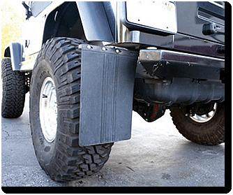 JL Transit Mud Flap Kit